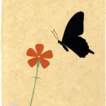 アゲハチョウ | Swallowtail Butterfly | 2007 | 254×202 mm | Private Collection