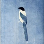 オナガ Ⅱ | Blue Bird Ⅱ | 2007 | 280×250 mm