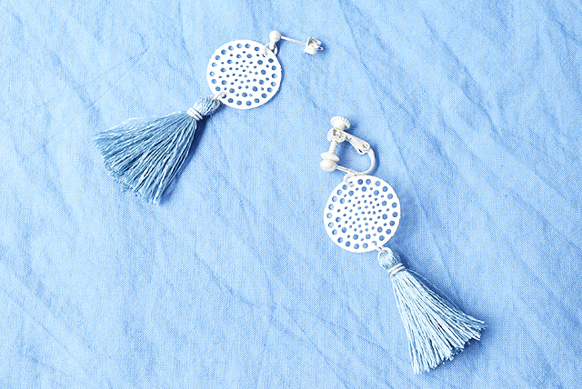 shop_dotpierce_silk tassel lace silver_blue_all
